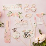 Photo Booth Props  Floral Hen Party