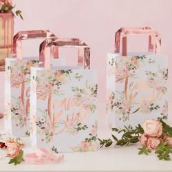 Geschenktasjes  -Team Bride - Floral Hen Party