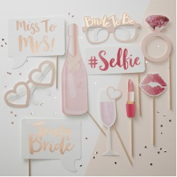 Photobooth Props Team Bride