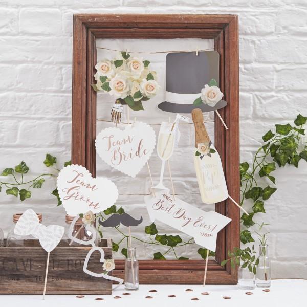 Photobooth props Beautiful Botanics
