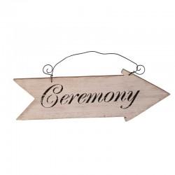 Wegwijzer bord 'Ceremony'