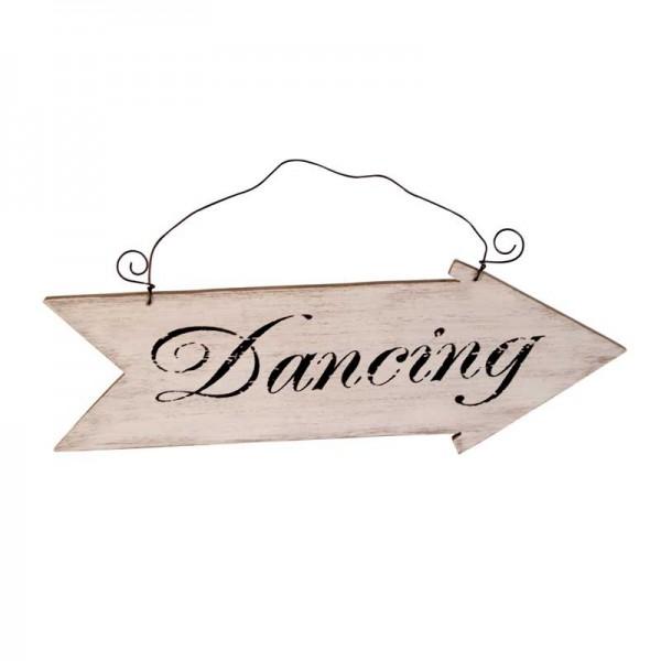 Wegwijzer bord 'Dancing'