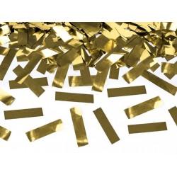 Confetticanon goud 60 cm