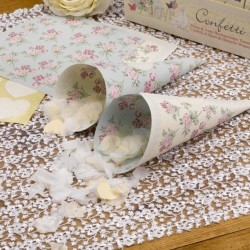 Confetti hoorntjes  With Love  10 stuks