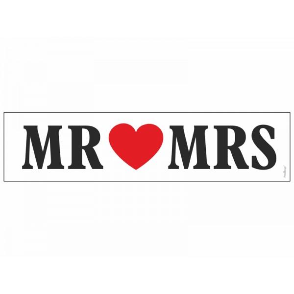Kentekenplaat MR MRS