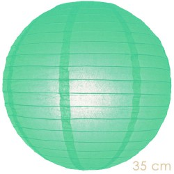 Lampion mintgroen 35 cm