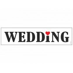 Kentekenplaat WEDDING