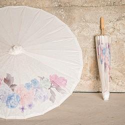 Parasol Pastel Bloemen