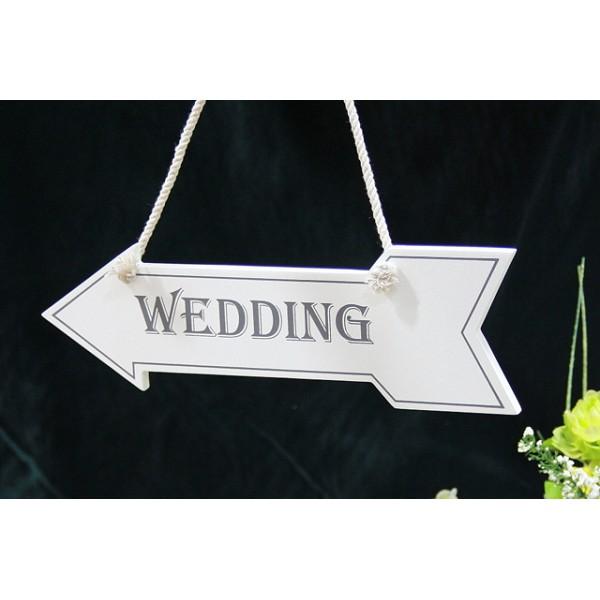 Wegwijzerbord 'Wedding'