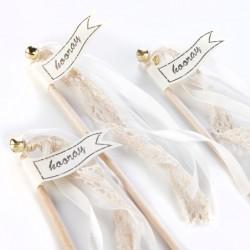 Wedding Wands lichtroze  10 stuks