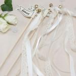 Wedding wands wit  10 stuks
