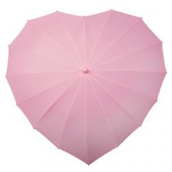 Paraplu hartvorm zachtroze