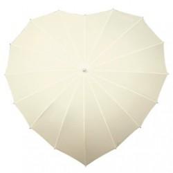 Paraplu hartvorm  ivoor