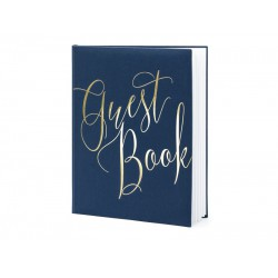 Gastenboek Royal Blue & Gold