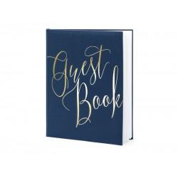 Gastenboek Royal Blue & Gold
