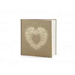Gastenboek Kraft Romance