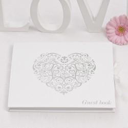 Gastenboek Silver Romance