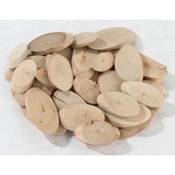 Houten schijfjes  50 stuks