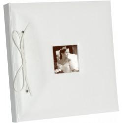 Gastenboek wit  eigen foto