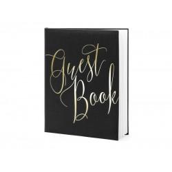 Gastenboek Black & Gold