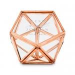 Ringendoosje Geometric Rosé Goud
