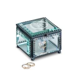 Ringendoosje Vintage Glass  - Gepersonaliseerd