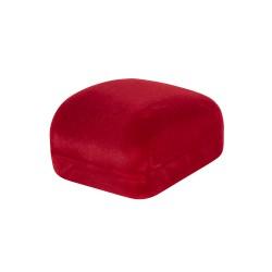 Ringendoosje Rood zwart Fluweel